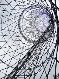 Torre Shújov antigua Torre de la radio rusa, patrimonio industrial y cultural del s.XX,  Moscú